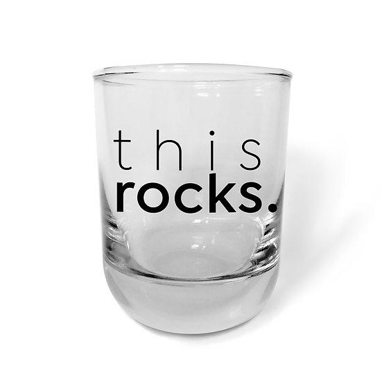 This Rocks Bourbon Glass