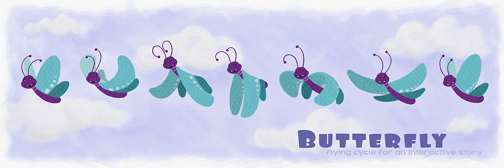 butterfly fly cycle