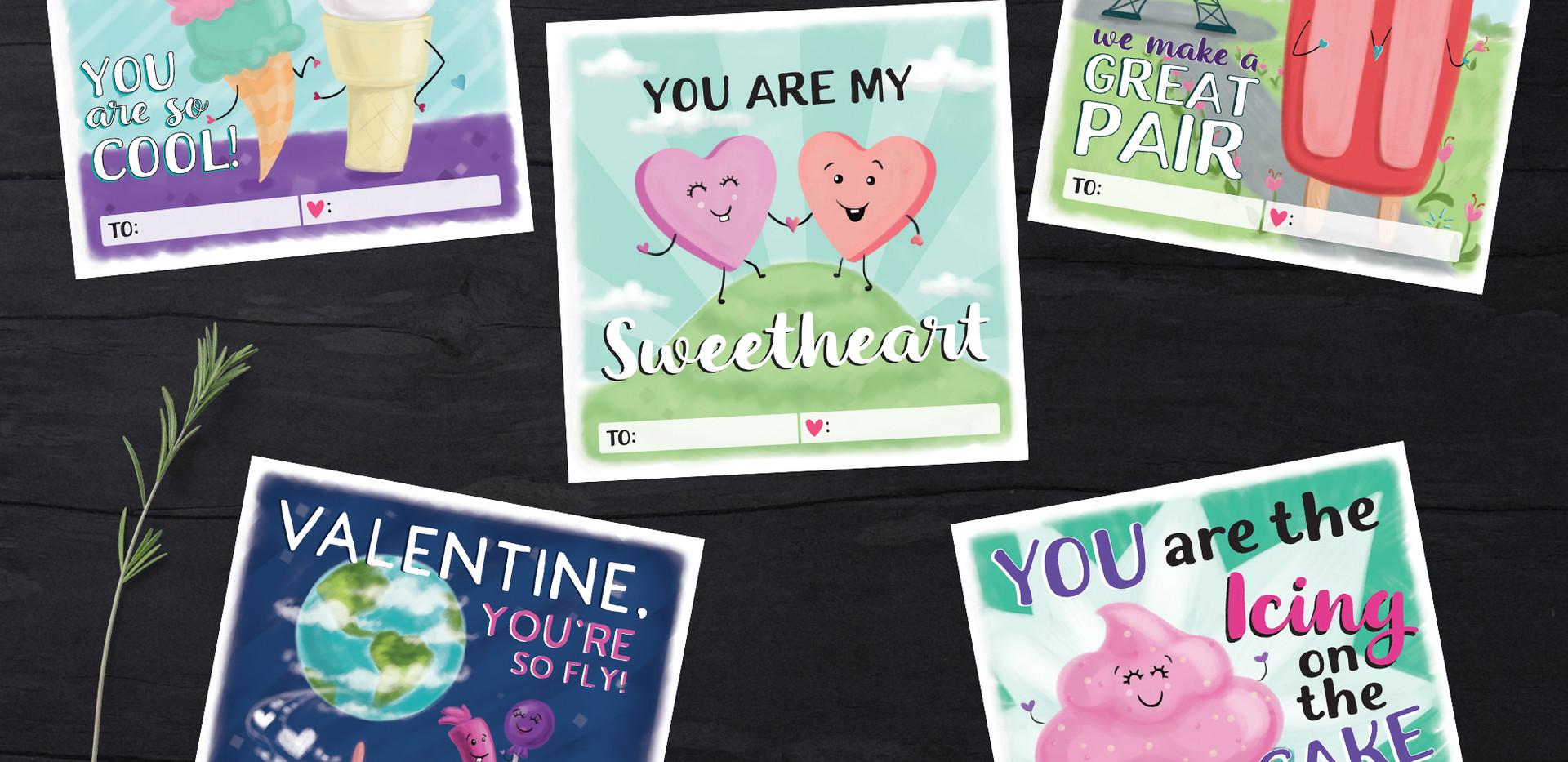 Sweet Treat Valentines
