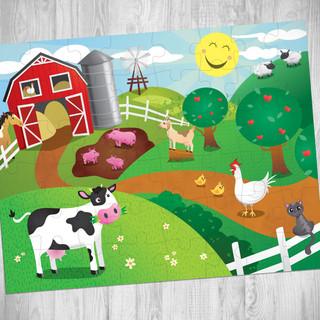 Farm Themed Floor Puzzle