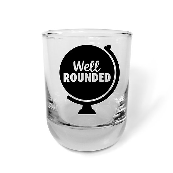 Well Rounded Rocks Glass