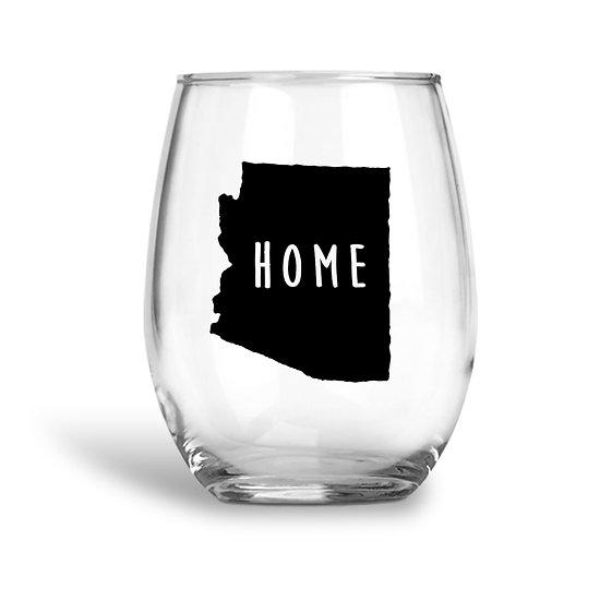 Arizona Wine Glass