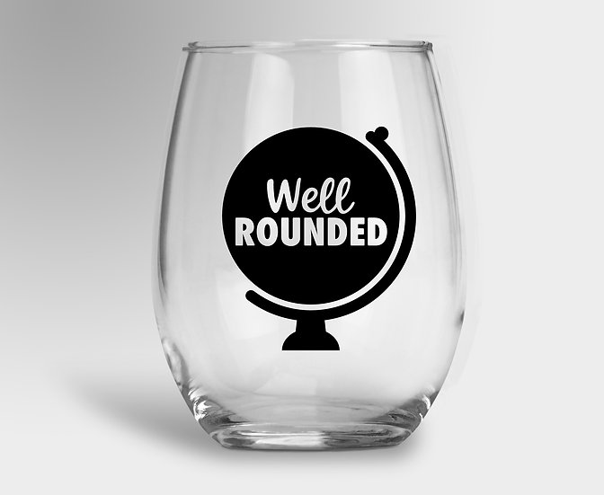 Well Rounded Wine Glass