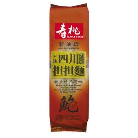 壽桃牌 四川擔擔麵 鮑魚清雞湯味