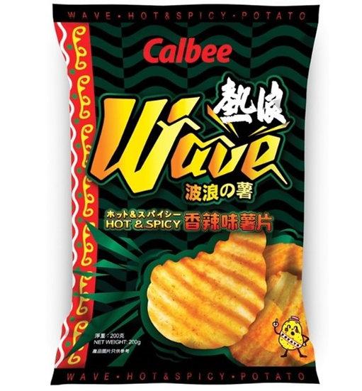 卡樂B 熱浪香辣味波浪薯片 200G