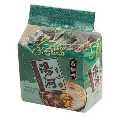 壽桃牌 香菇味 湯河 5包裝