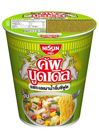 (泰國)日清 合味道 泰式香辣海鮮杯麵 76G
