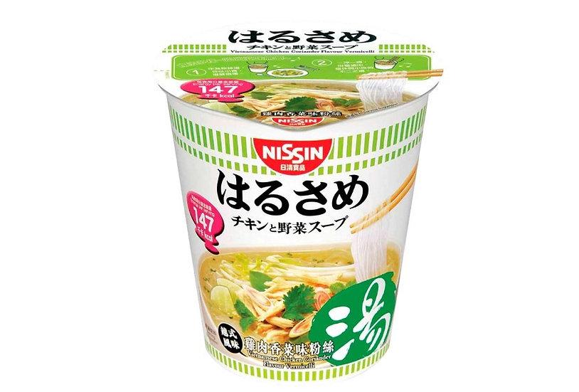 日清 低卡越式雞肉香菜粉絲湯(杯裝)