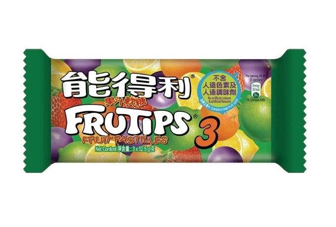能得利 果汁軟糖  3'S (3條裝)