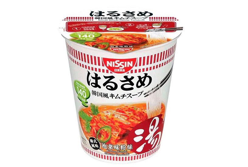 日清 低卡韓式泡菜粉絲湯(杯裝)