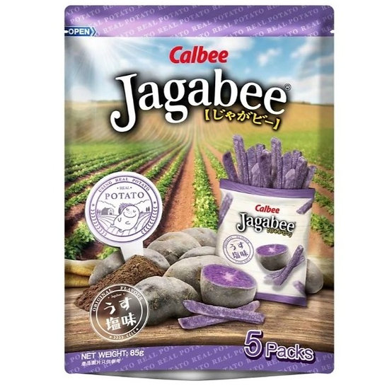 卡樂B 宅卡B紫薯條 5小包
