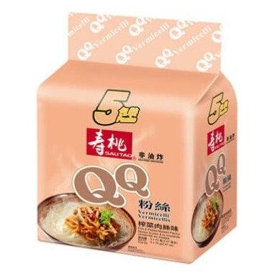壽桃牌 QQ粉絲 榨菜肉絲味 5包裝
