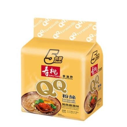 壽桃牌 QQ粉絲 鮑魚雞湯味 5包裝