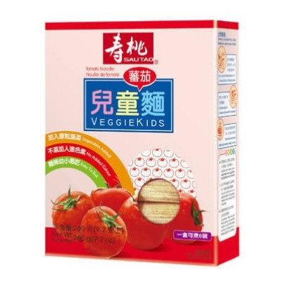 壽桃牌 兒童麵 蕃茄麵 260g