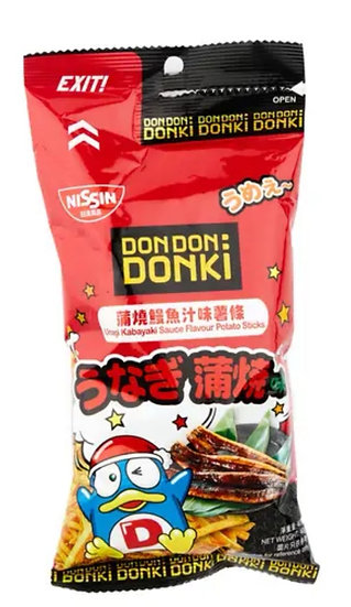 Donki x 日清蒲燒鰻魚汁味薯條