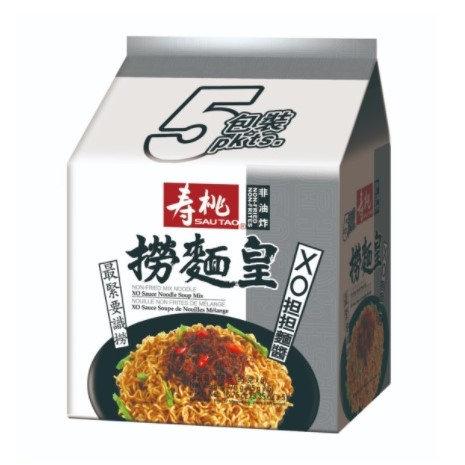 壽桃牌 撈麵皇 XO擔擔麵醬 5包裝
