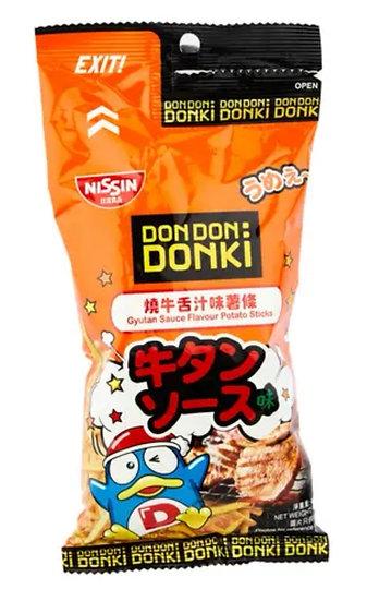 Donki x 日清燒牛舌汁味薯條 40g
