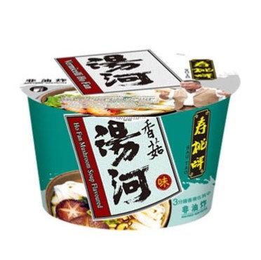 壽桃牌 香菇味湯河 80G