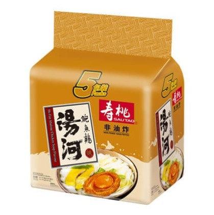 壽桃牌 鮑魚雞味 湯河 5包裝