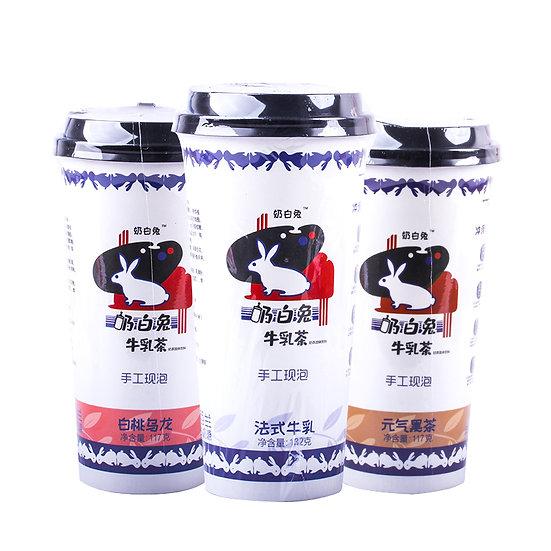 大白兔 大白兔即沖茶飲 三款口味 117G/一杯