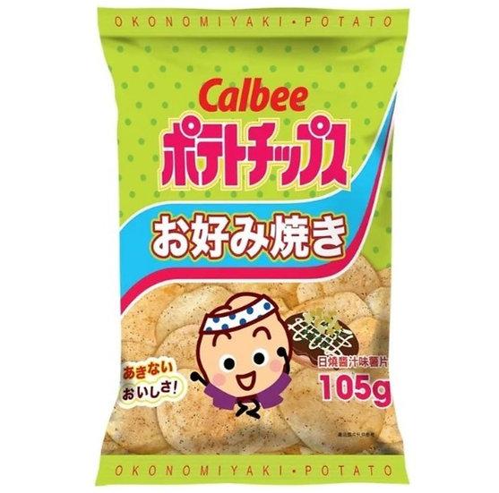 卡樂B 日燒薯片 105G
