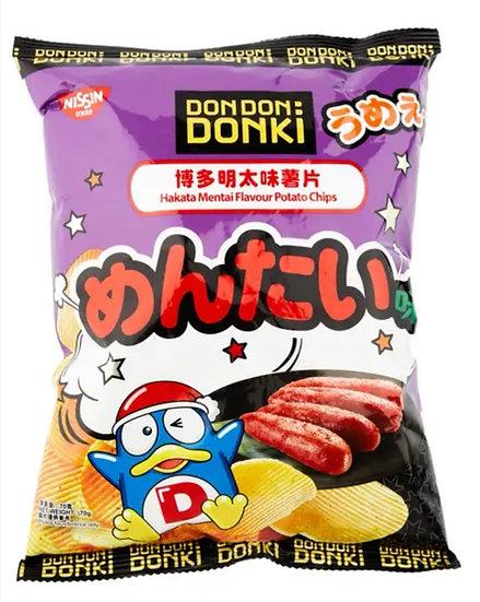 Donki x 日清博多明太味薯片 70g