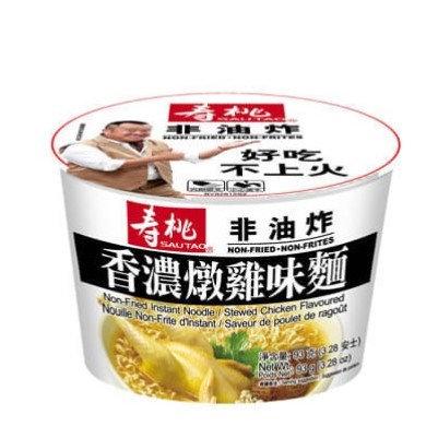 壽桃牌 非油炸 香濃燉雞味(碗裝) 93G