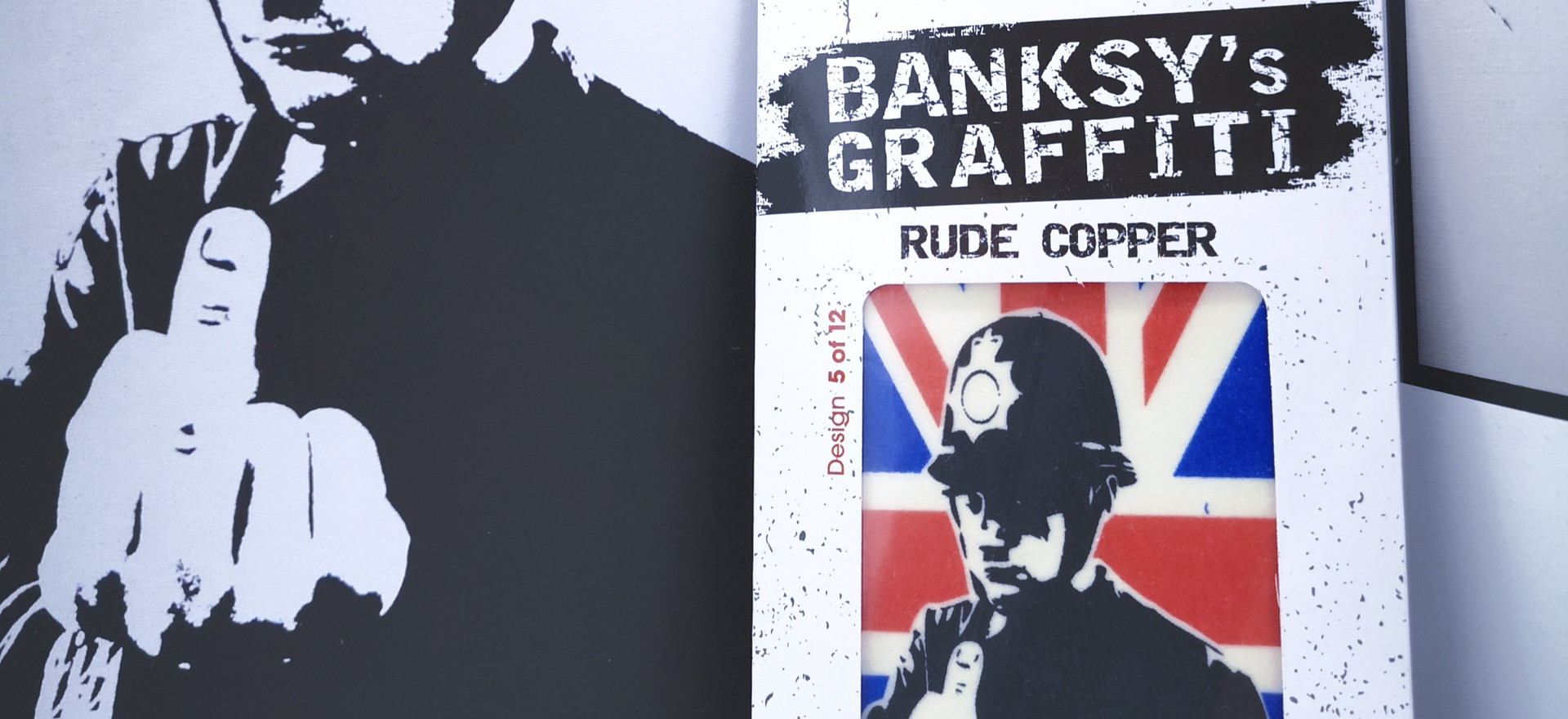 Banksy's Graffiti Car Perfumes - Rude Copper