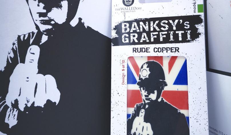 Banksy's Graffiti Car Perfumes - Rude Copper