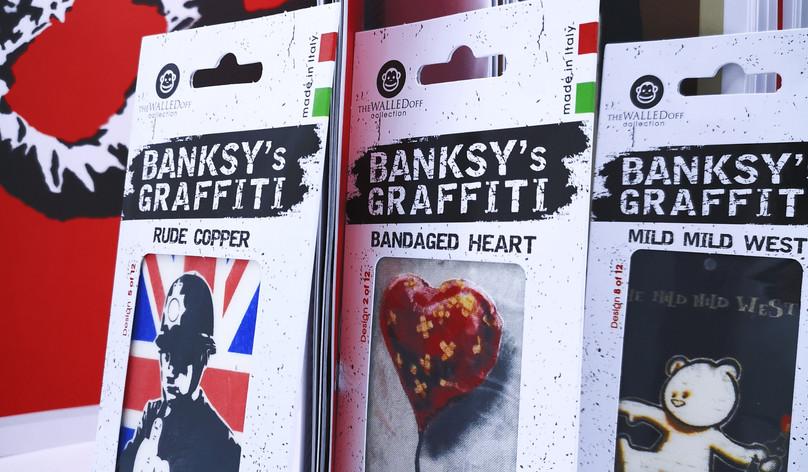 Banksy's Graffiti Car Perfumes Kit