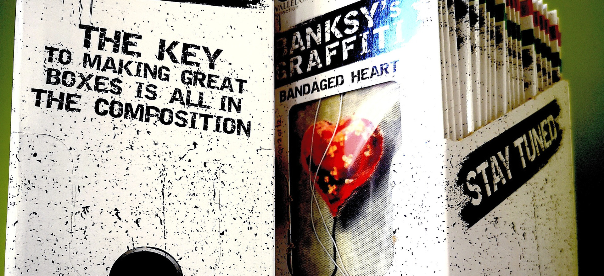 Banksy's Graffiti Car Perfumes Box
