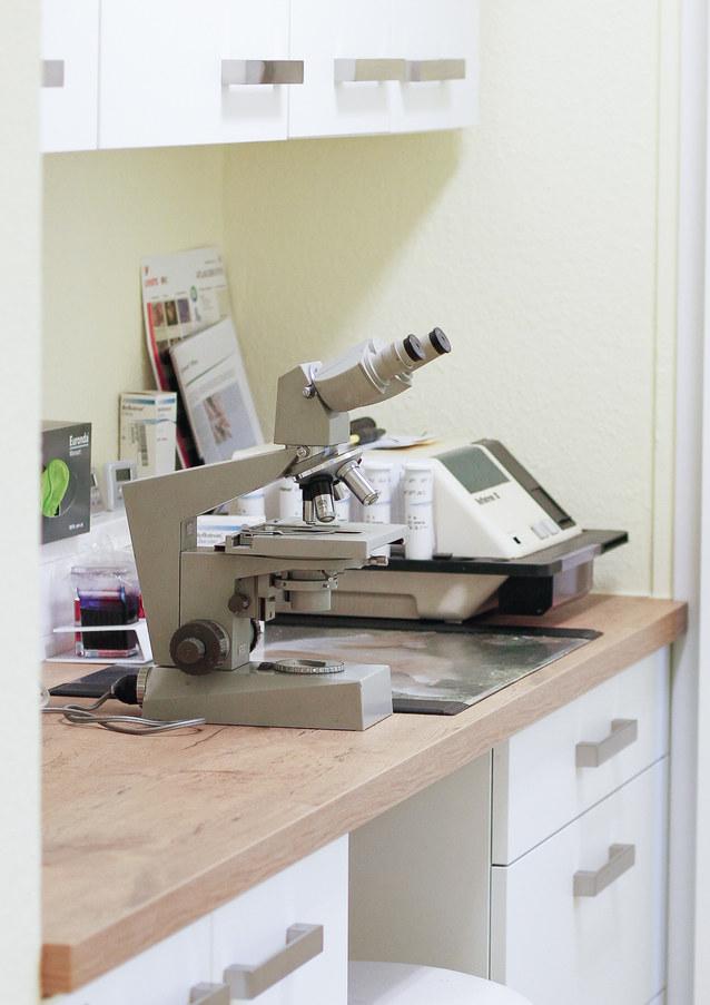 Hauseigenes Labor