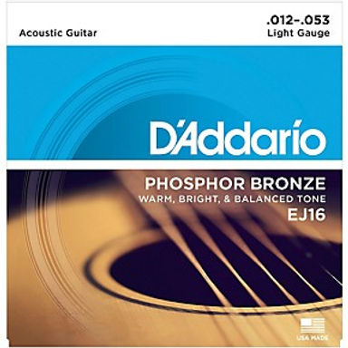 01.Daddario Acoustic Strings (Phos. Bronze)