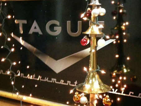 Updated  Tague Music Online Store for the 2020 Holidays