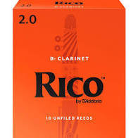 Rico Clarinet Reeds (10 Pack)