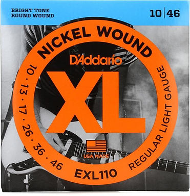 01.Daddario - XL Electric Guitar Strings
