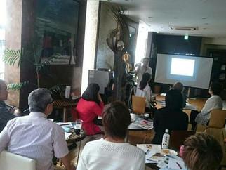 初のフィリピン観光省での留学セミナー