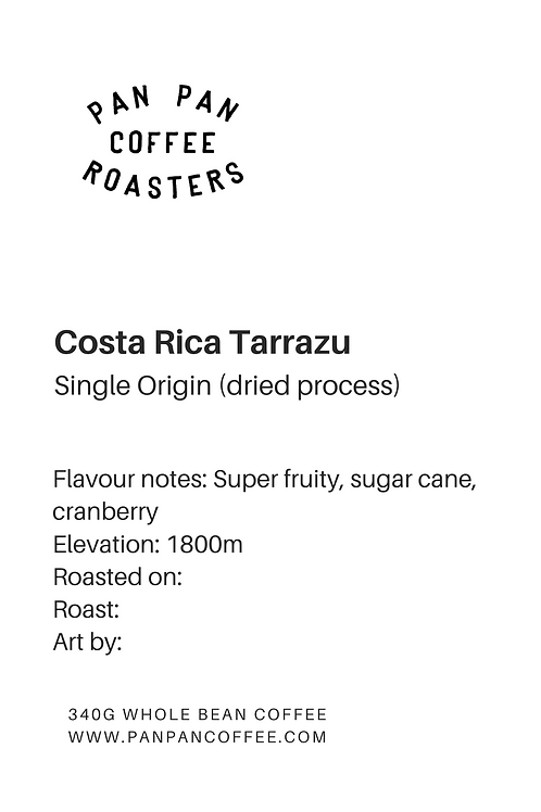 Costa Rica Tarrazu - Light Roast