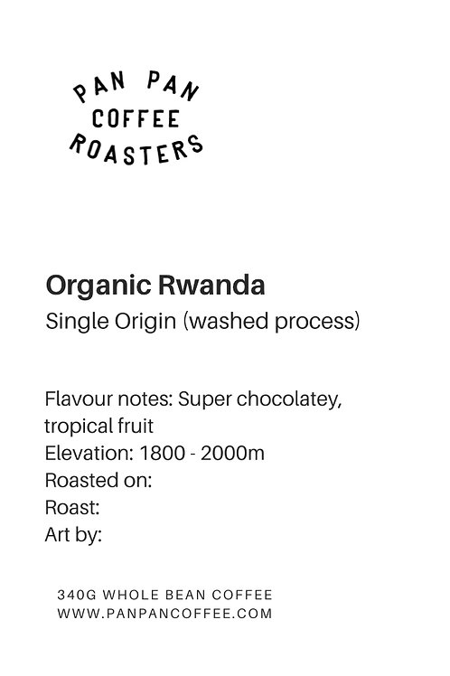 Organic Rwanda - Medium/Dark Roast