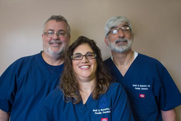 Dr. Brian Buzzatto, Dr. Susan Ranii Buzzatto, Dr. William Ranii