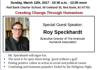 March 2017: Creating Change through Humanism