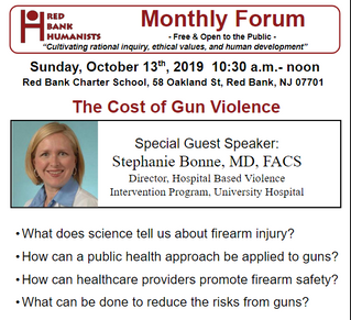 October 2019: The Cost of Gun Violence