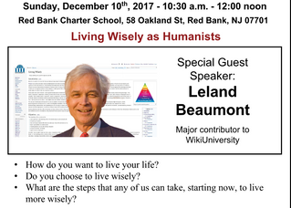 Living Wisely as Humanists