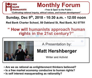 Matt Hershberger: How will humanists approach human rights in the 21st century