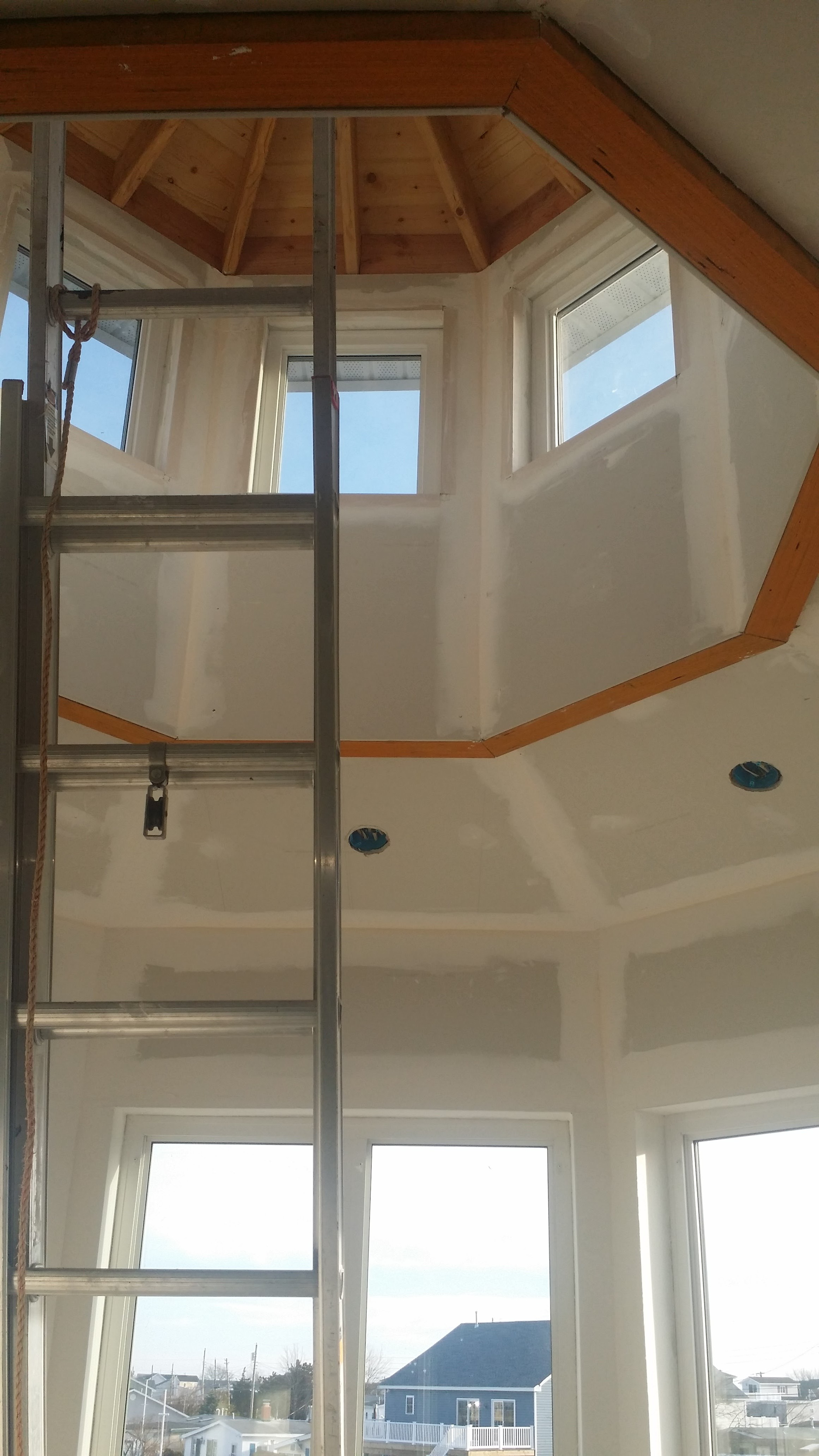 Octagon Ceiling Start to Finish