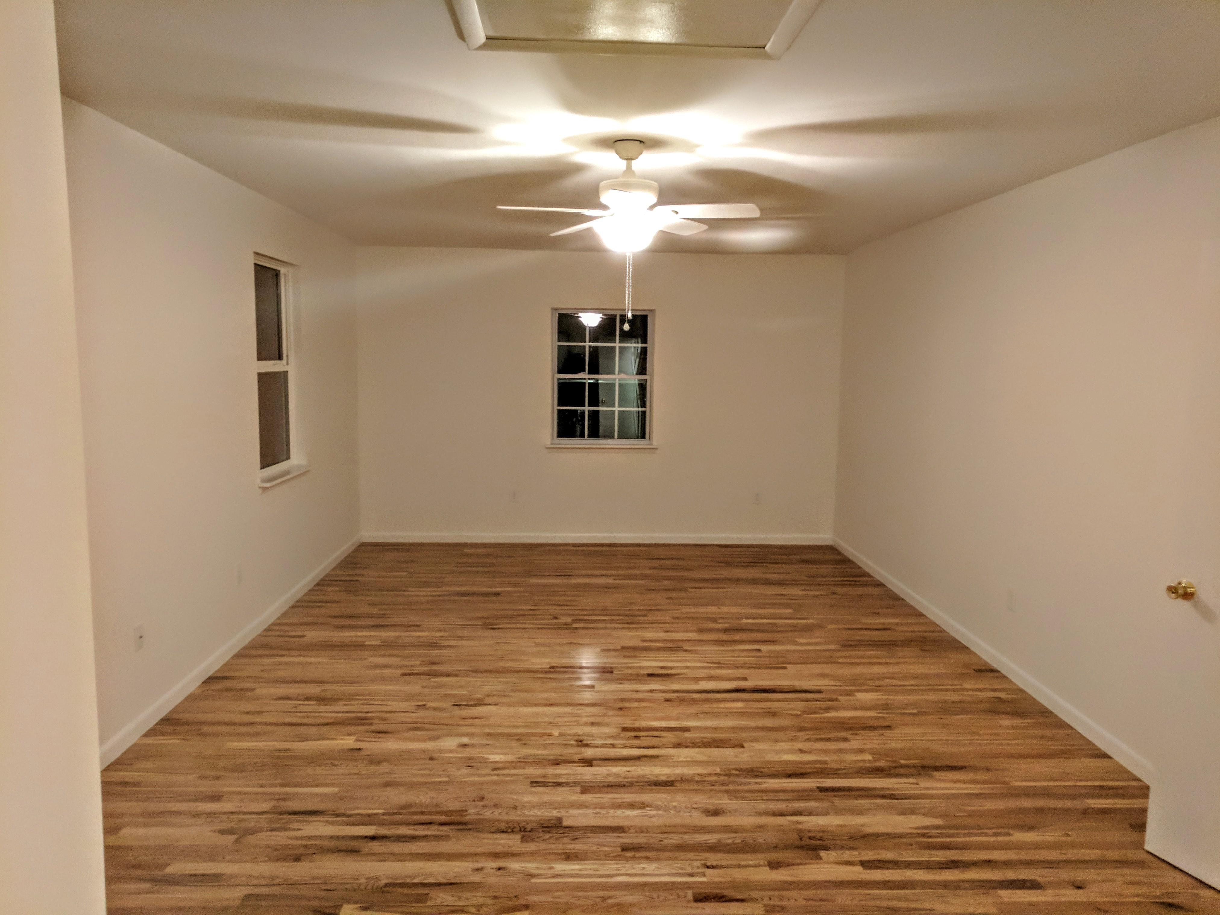 Over Garage Addition Interior