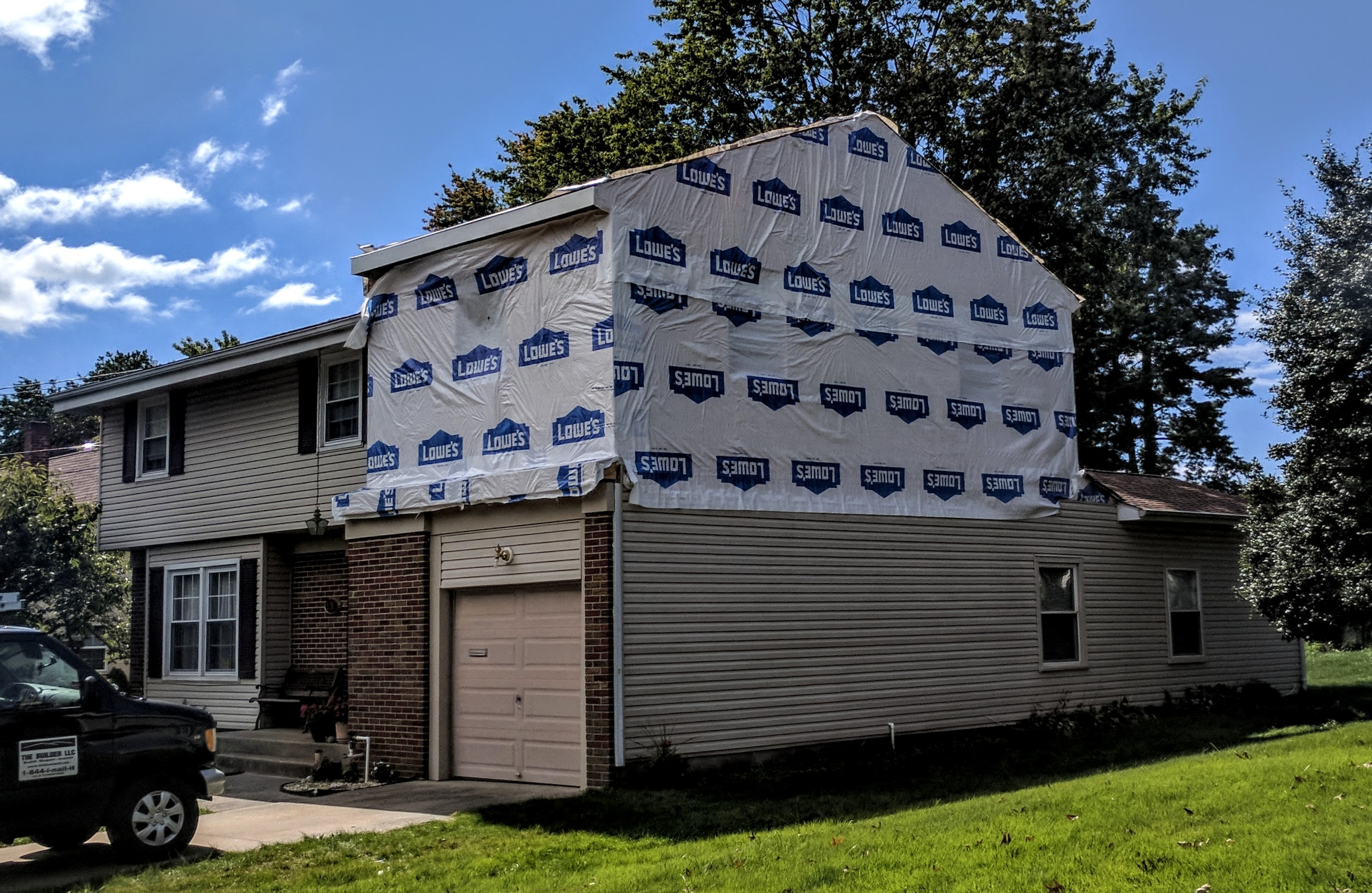 Over Garage Addition