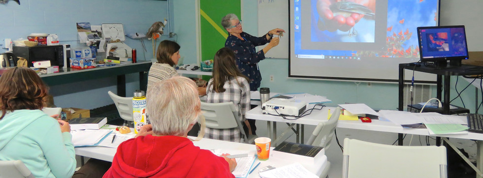 The banding course features both classroom instruction and hands-on field training.