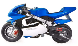 XtremepowerUS Gas Pocket Bike Mini Motorcycle Ride-On 40cc