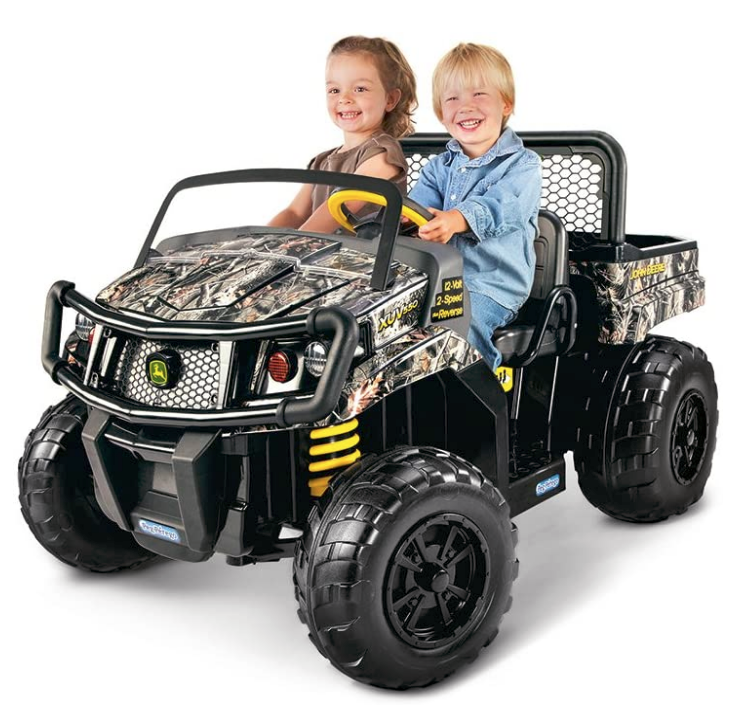 Peg Perego John Deere Gator Xuv Children's Powered Ride Ons, Camo